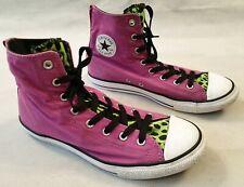 Converse Chuck Taylor All Star Pink Purple Green High Top Trainer UK 5.5 EU 38.5