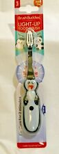 New Penguin Toothbrush Brush Buddies Childrens Lights Up For Two Minutes