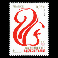 France 2018 - Anniversary of the Caisses d'Épargne Banking Group - MNH