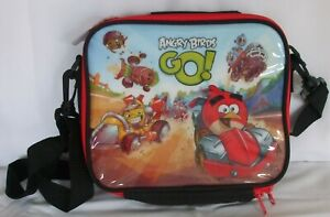 Kids Angry Birds Go Character School Lunch Bag