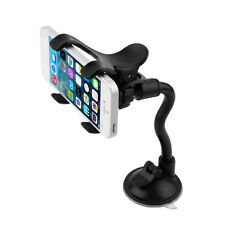360°Rotating Car Windshield Mount Holder Stand Bracket Mobile Phone New