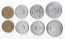Azerbajian  set 4 monete 1992  da 5 a 50 qapik  conservazione da BB a qFDS