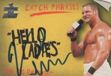 VAL VENIS SIGNED 2002 FLEER WWE CATCH PHRASES #9 - HEELO LADIES