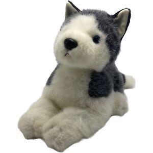 Russ Blizzard Plush Husky Puppy Dog Blue Eyes Stuffed Animal Gray White 10 In