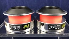 NEW! U.S. Reel - SuperCaster 250 3G Aluminum Spools - Lot of 2 *