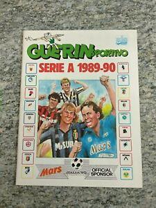 Album Figurine Calciatori Ed. Guerin Sportivo 1989/90 COMPLETO originale