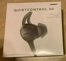 Bose Quiet Control 30 Black Wireless Earphones New Factory Sealed