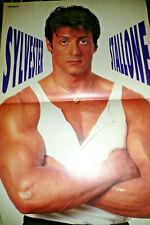 Ein Sylvester Stallone Poster bekannt durch Rambo & Rocky  für Deine Sammlung