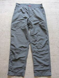 Men's NORTH FACE  Walking Hiking Climbing Grey Trousers Size 34 =W34-IL30