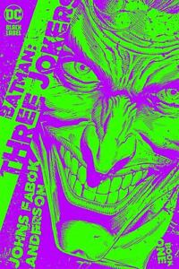 Batman Three Jokers #1 (Of 3) 1:25 Jason Fabok Green Variant 8/25/20 NM