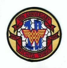 Wichita Wings Soccor 10th Anniversary Patch 1979-1989 (4 1/8in)