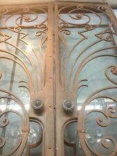 Iron And Glass Big Entry French  Front Doors Gates