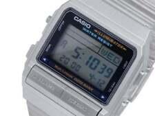 CASIO Vintage Retro Silver DB380-1 Databank 5 Alarm Telememo @
