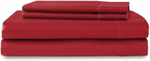 Luxury Satin Flat Sheet Twin, Full, Queen, King Bed, 17 Colors