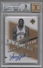 2010-11 Ultimate Collection All-Time Team Signatures Gold Larry Johnson 13/25