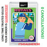 Topps Project 2020 #102 ~ 1975 GEORGE BRETT by Keith Shore SP (PR 10757) PRESALE