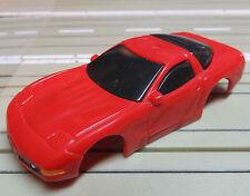 Für H0 Slotcar Racing Modellbahn --   Corvette Karosserie für Tyco Motor