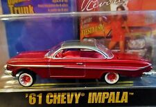 REVELL 61 1961 CHEVY IMPALA LOWRIDER MAGAZINE CHEVROLET COLLECTIBLE CAR DK RED