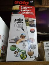 SOLO HAND HELD SPRAYER STAINLESS STEEL MODEL 469 2 GALLON NEW IN BOX