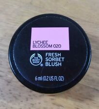 THE BODY SHOP FRESH SORBET BLUSH LYCHEE BLOSSOM 020 BRAND NEW SEALED