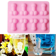 New Novelty Willy Penis Silicone Chocolate Ice Jelly Cake Mould Mold Hens Party