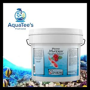 *REPACK* Seachem Pond Matrix 4L High Capacity Filtration Control Ammonia Nitrate