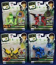 """NEW 4 Ben 10 HAYWIRE 4"""" Action Figures NRG Wildmutt STINKFLY Ultimate Big Chill"""