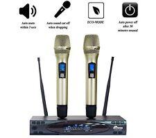 IDOLmain UHF 628 PREMIUM QUALITY SERIES LCD Wireless Karaoke Microphone IDOLPRO