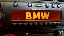 BMW Traffic Pro BE4769 AUX-IN CD-R Becker Autoradio Navi E30 E28 E32 E34 ...