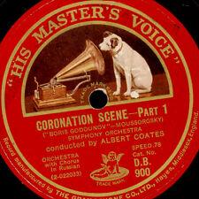 "THEODORE CHALIAPINE -Bass- ""Boris Godounov"" Coronation Scene (Moussorgsky) G2064"