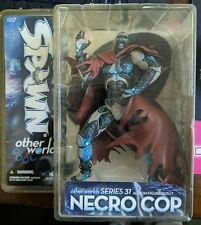 2007 McFarlane Toys Spawn Other Worlds Series 31 Necro Cop Figure