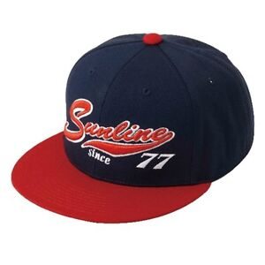 ** SUNLINE 1977BB Cap Navy/Red CP-3964 Free Size