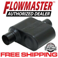 "Flowmaster 842516 Super 10 Muffler 2.5""  Offset Inlet/Center Outlet 409S SS"