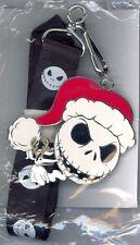 Disney Shopping Nightmare Santa Jack Skellington Zero Antlers Lanyard & Pin Set
