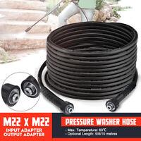 5M / 10M Hochdruckschlauch Rohrreinigungsschlauch M22 F für