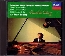 Andras SCHIFF Signed SCHUBERT Vol.2 Piano Sonata D.566 784 850 CD Klaviersonaten