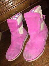 Ugg Australia Youth Big Kids Size 4 Us 34 Eu Jayla 1005467K Pink Boots Shoes