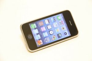 APPLE iPhone A1303 3GS 8GB GSM Mobile Smartphone 3rd Generation Cell Phone Black