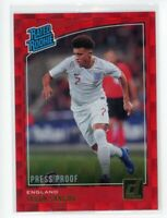 2018-19 Jadon Sancho Panini Donruss Rated Rookie Red Press Proof
