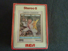 DAVID CASSIDY THE HIGHER THEY CLIMB ULTRA RARE NEW SEALED 8 TRACK CASSETTE TAPE!