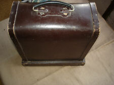 Vintage Early Soviet USSR Slide Projector Diascope Filmoskop With Wooden Box#303
