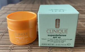 Clinique SUPERDEFENSE SPF 40 Multi Correcting Moisturiser Gel 15ml
