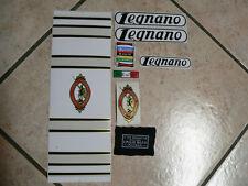 kit stickers adesivi per bici da corsa vintage LEGNANO CONDORINO 8 pezzi