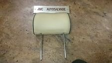 RANGE ROVER P38 CREAM LEATHER HEADREST HEAD REST FRONT OR REAR 1994-2001