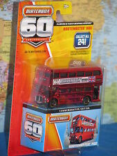 MATCHBOX 60th ANNIVERSARY ROUTEMASTER BUS RED ***BRAND NEW & EXTREMELY RARE***