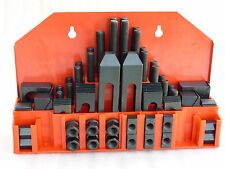 "58pcs/set steel clamping kits, 5/8"" slot, 1/2""-13 stud. Brand New."