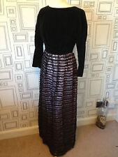 Eveningwear Velvet Dresses 1960s Vintage