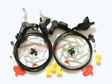 Shimano MTB BR-M535 Hydraulic Disc Brake/Lever Front & Rear & 160mm Rotor Set