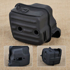 New Black Metal Muffler Exhaust Fit For Stihl MS341 MS361 Chainsaw 1135 140 0650