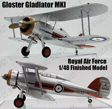 WWII UK RAF Gloster Gladiator MK I finished aircraft 1/48 Easy model plane